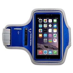 Gear Beast Deluxe Sports Armband + Key Holder for Apple iPho