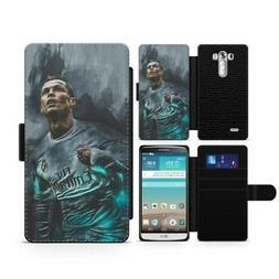 Designer Ronaldo Painting Personalised Flip Clip on Phone Ca