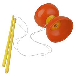 Diabolo w/ Sticks Traditional Circus Game Retro Diablo Chine