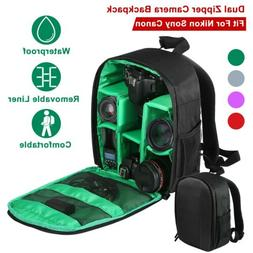 Digital Camera Bag Backpack Photo SLR DSLR Case for Nikon So
