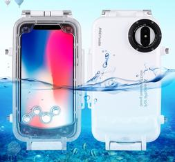 Diving Case For iPhone X  Waterproof 40m 130ft Underwater Ho
