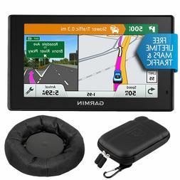 Garmin DriveSmart 50LMT GPS Navigator with Dash-Mount Bundle