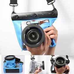 DSLR Camera Underwater Diving Swim Waterproof Case Pouch Dry