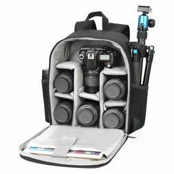 CADEN DSLR SLR Camera Backpack Bag Case Waterproof Lightweig