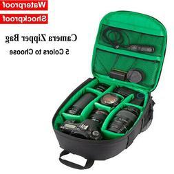 DSLR SLR Camera Backpack Waterproof Shoulder Bag Case For Ca