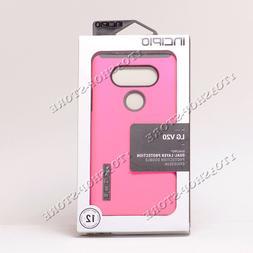 reputable site 70c4a bac2d Incipio DualPro LG V20 Case - Pink/Charcoal
