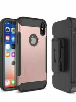 Trianium Duranium Holster Case Compatible with iPhone XS/X C