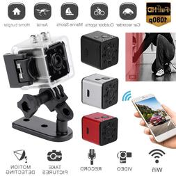 DV camera + WiFi + waterproof case SQ13 mini camera supports