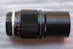 OLYMPUS E ZUIKO AUTO-T OM System f/4 f/4.0 200mm