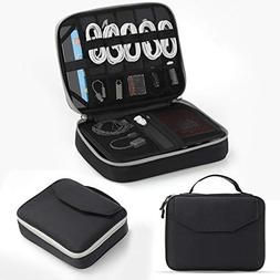 Electronics Organizer, Jelly Comb Electronic Accessories Cab