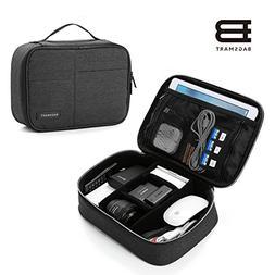 BAGSMART Electronics Travel Organizer Bag for Adaptors, Char