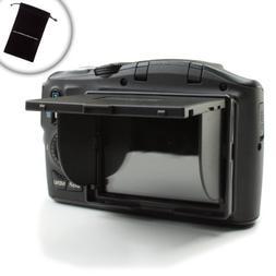 ENHANCE LCD Hood / Sun Shade & Screen Protector for Canon EO