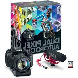 Canon EOS 80D 24.2 Megapixel Digital SLR Camera with Lens -
