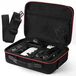 Kuuqa EVA Hardshell Handbag Carrying Case with Belt for Dji
