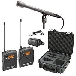 Sennheiser EW 100 ENG G4-A Wireless Basic Kit plus Audio-Tec