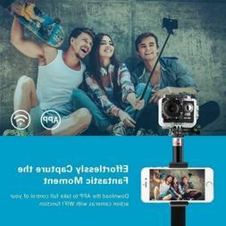 MPOW Extendable Selfie Stick Bluetooth Remote Self-portrait