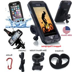 F iPhone 7 8 Plus Waterproof Motorcycle Bike Bicycle Handleb