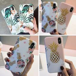 Iphone 11 Pro Max 8 Plus XS Max XR Floral Pineapple Girls Cu