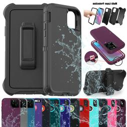 iPhone XR 8 7 6s Plus Shockproof Hard Defender Protective Ca