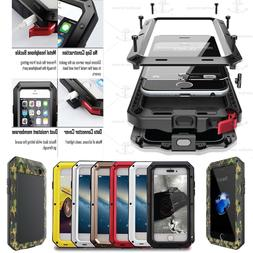 FAST SHIPPING WATERPROOF GORILLA GLASS FULL COVER METAL CASE