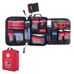 CS Force First Aid Kit Molle Medical EMT Pouch Waterproof Ca