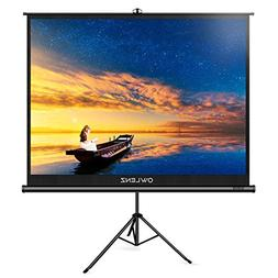 The First Projector Screen with Stand Green Environmental, O