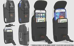 Fitted Wallet Type Holster Belt Clip Large Cell Phone Fits W
