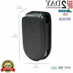 Flip Cell Phone Case Leather Pouch For Samsung Lg ZTE Holste