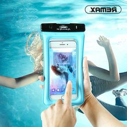 REMAX Float Airbag Design IPX8 Waterproof Dry Pouch Case Tra