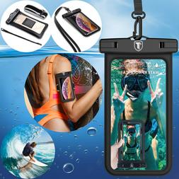 Floating Waterproof Pouch Universal Dry Bag Phone Workout Ar