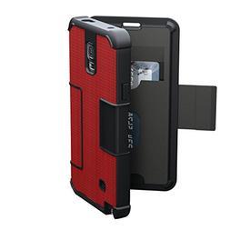 Urban Armor Gear Folio Case for Samsung Galaxy Note 4 Red an