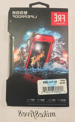 Lifeproof FRE SERIES Waterproof Case FITS iPhone 7 Ember Fla