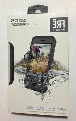 LifeProof FRE Series Waterproof Case for iPhone 7  - Gray/Gr