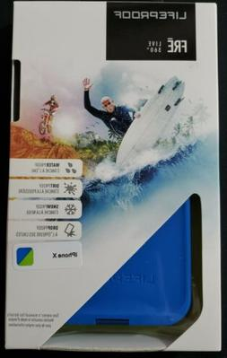 Lifeproof FRE Series Waterproof Case for iPhone X Blue/Green