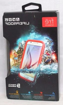 Lifeproof fre Waterproof Case for Samsung Galaxy S6 Pink