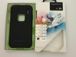 LifeProof FRE Waterproof Case / Cover for iPhone X New Black