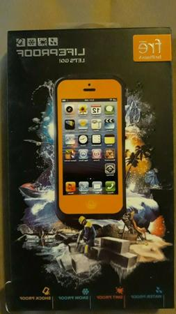 LifeProof Fre Waterproof Case for iPhone 5/5s/SE - Orange