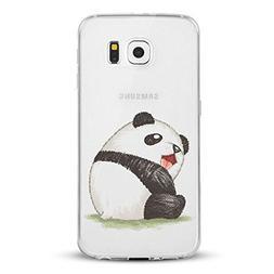 Galaxy S 7 Edge Case Clear, Galaxy S7 Edge Case Silm,Cute An