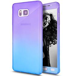 Galaxy Note 5 Case with Tempered Glass Screen Protector,PHEZ