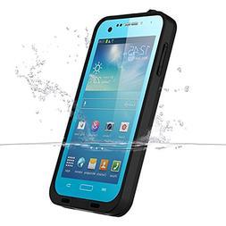 Galaxy S4 Waterproof Case, iThrough Underwwater, Dust Proof,