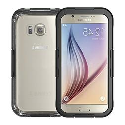 Galaxy S6 Waterproof Case, iThroughTM Waterproof Case, Dust