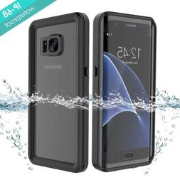 Galaxy S7 Edge Waterproof Case, Full Sealed Certified Case w