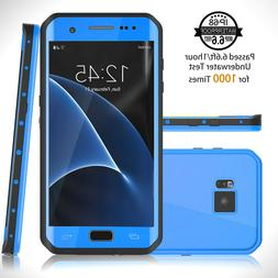 For Galaxy S7 Edge Waterproof Case Full Body Protective Shoc