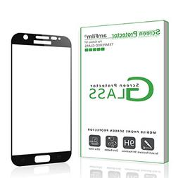 Galaxy S7 Screen Protector Glass , amFilm Bye-Bye-Bubble Sam