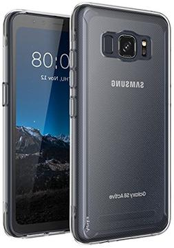 sale retailer f091f 76827 Galaxy S8 Active Case, Aeska Ultra Flex...
