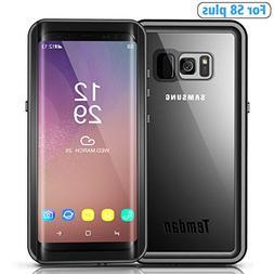 Temdan Galaxy S8 Plus Waterproof Case Rugged Built in Screen