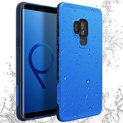 Galaxy S9 Plus Waterproof Case, AICase IP68 Full-Body Heavy