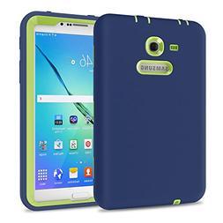 TKOOFN Galaxy Tab 3 Lite 7.0 Case, Shockproof Heavy Duty Rug