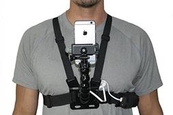 Livestream Gear Wearable Battery and Chest Harness with Goos