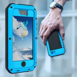 Genuine Aluminum Gorilla Glass Metal Waterproof Case Cover F
